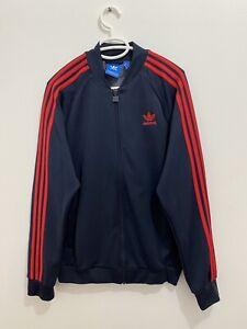 Adidas Originals Superstar Track Jacket Legend Ink Red Size M BR4320