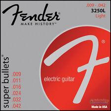 Fender Super Bullet Electric Guitar Strings, Nickel Plated Steel 3250L .009-.042
