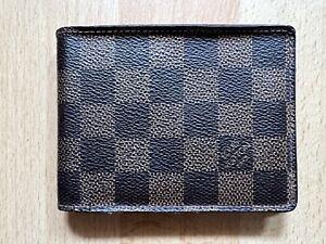 Authentic louis vuitton Damier Men's Wallet