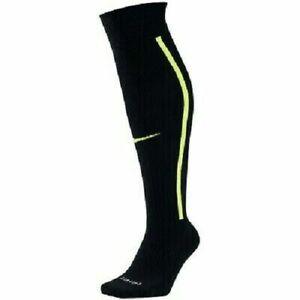Nike Vapor Football Socks Knee High Men's Shoe 6-8 M Black Volt SX5732-013