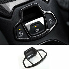 Fit For Renegade Carbon Fiber Style Electronic handbrake decorative frame trim