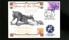 DOBERMAN PINSCHER 2006 CI YEAR OF THE DOG STAMP COVER 1