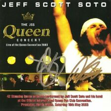 Jeff Scott Soto - The JSS Queen Concert 2-CD (Indie Press - Signed by JSS Howie)