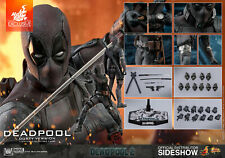 Marvel Deadpool 2 Dusty Exclusive Action Figure 1/6 Hot Toys Sideshow Mms 505