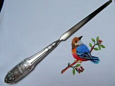 ELEGANT EARLY XX th. C SILVER FRENCH  LETTER OPENER