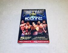 King of the Cage Superstars of KOTC 5-DVD Box Set NEW Rampage Severn Imamura +++