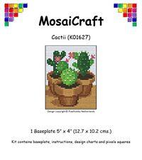 MosaiCraft Pixel Craft Mosaic Art Kit 'Cactii' Pixelhobby