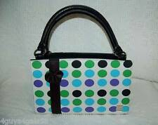 Miche Classic Purse SHELL ONLY Fits Classic Bag IZZY Green Blue Black Dots