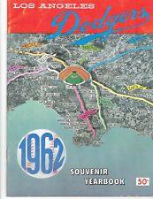 1962 Los Angeles Dodgers Souvenir Yearbook Vintage