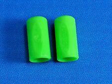 2 TIP PROTECTORS NEON GREEN ELFORYN ® POOL BILLIARD CUE 11mm - 14mm