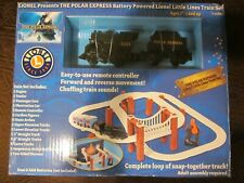 Brand New Lionel The Polar Express Battery Powered Little Lines Train Set