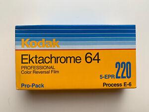 5 Rolls Kodak Ektachrome 64 220 Professional Color Reversal Film- Exp. 2004