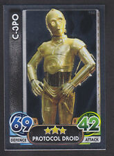 Topps Star Wars - Force Attax The Force Awakens # 168 C-3PO - Mirror