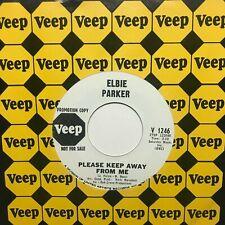 northern soul r&b 45 ELBIE PARKER Please Keep Away From Me  VEEP listen
