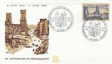 FRANCE : 1984 40th ANNIVERSARY OF D.DAY-CAEN special cancel