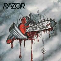 Razor - Violent Restitution (White/Red Splatter Vinyl) [Vinyl LP] LP NEU OVP