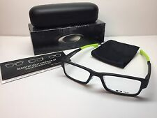 NIB Oakley Airdrop Satin Black Retina Burn Frames Rx Eyeglasses OX8065-0753 53mm