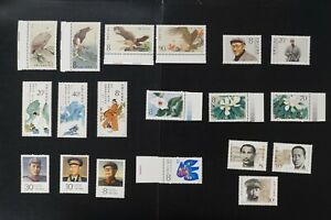 China collection of VF MNH complete sets 2017 cv$34.75 (k092)