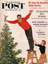 1957 Saturday Evening Post December 28 - Edie Adams, Ernie Kovacs; De Roos;Nixon