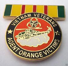 VIETNAM VETERANS AGENT ORANGE VICTIMS Military Veteran Hat Pin P14819 EE
