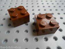 LEGO Star Wars OldBrown bricks 2x2 ref 3003 / Set 7194 7184 10018 4478 ...