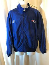 Vintage PROLINE 90's New England PATRIOTS Logo Athletic Windbreaker/Jacket Sz