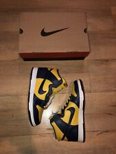 DS Nike Dunk High Michigan Size 9 1999 Off White Fragment