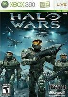 Halo Wars Microsoft Xbox 360 Game Authentic