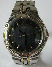 Seiko 7n42 Quartz Date Watch with original SS Bracelet