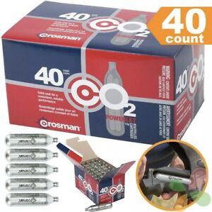 40 CO2 Cartridge Airsoft Gas Gun Pellet BB Pellets Crosman 12 Gram CO2 Cartridge