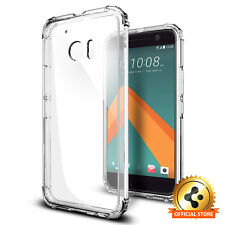 Spigen® For HTC 10 [Crystal Shell] Shockproof Case Clear TPU Protective Cover