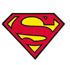 Superman Logo - Cartoon - Comics -  Iron On Patch