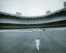 New York Yankees Mickey Mantle Alone In The Outfield