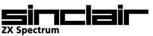 Sinclair ZX Spectrum Retro Logo Vinyl Sticker - laptop, wall art, window,