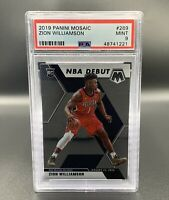 Zion Williamson *PSA 9* RC 2019 Panini Mosaic #269 New Orleans Pelicans NBA
