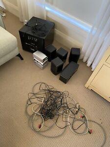 """Boston Acoustics & Yamaha 5.1.2 or 7.1 speakers and 10"""" subwoofer"""