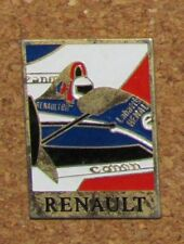 "A80 VINTAGE PIN  F1 RACE CAR CANON RENAULT 1.3"" pins"