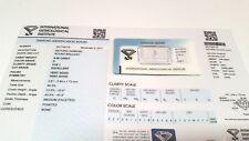 Diamante Certificato Certified Diamond IGI 176 ct.0,08 colore D purezza vvs1