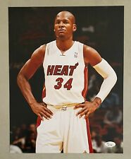 Ray Allen Signed 11x14 Photo Autographed JSA Sticker ONLY Miami Heat