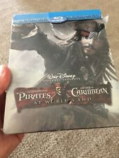 DISNEY PIRATES OF THE CARIBBEAN AT WORLD'S END BEST BUY BLU-RAY STEELBOOK