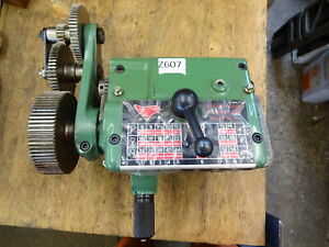 Myford ML7 Super 7 unused gearbox - old stock