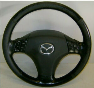 Mazda 6 STH Airbaglenkrad Lederlenkrad
