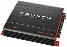 Crunch PX1000.4 Class Ab, 4 Channels, 1,000 Watt Car Power Amplifier