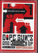 Dope, Guns & F.....G Up Your Videodeck V. 1-3 (DVD, 2004)Post-Punk  Music Videos