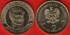 """Poland 2 zlote 2013 """"Prince Jozef Poniatowski"""" UNC"""