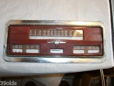 1939 OLDSMOBILE OLDS INSTRUMENT CLUSTER FRONT PLATE 70 AND 80 SERIES G70 L80