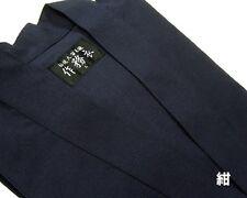 SAMUE Japanese Kimono 100% cotton Dark blue Size LL Made in japan
