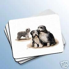 Bearded Collie Dog Computer Mouse Pad Mousepad New