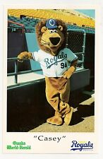 Omaha Royals/Omaha Storm Chasers/Casey The Lion 1994 Debut Photo Giveaway