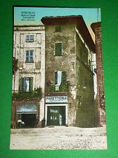 Cartolina Moncalvo Monferrato ( Asti ) - Antica Casa Demaria 1925 ca - N. 83